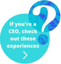 If you're a CEO, check out these experiences